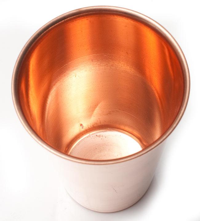 【祭壇用】銅製ラッシーグラス 【高さ:約11.7cm】 4 - 中はこんな感じです