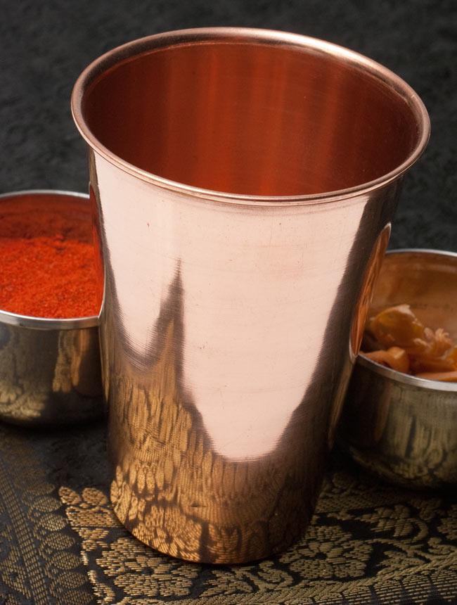 【祭壇用】銅製ラッシーグラス 【高さ:約11.7cm】の写真