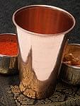 【祭壇用】銅製ラッシーグラス 【高さ:13cm】