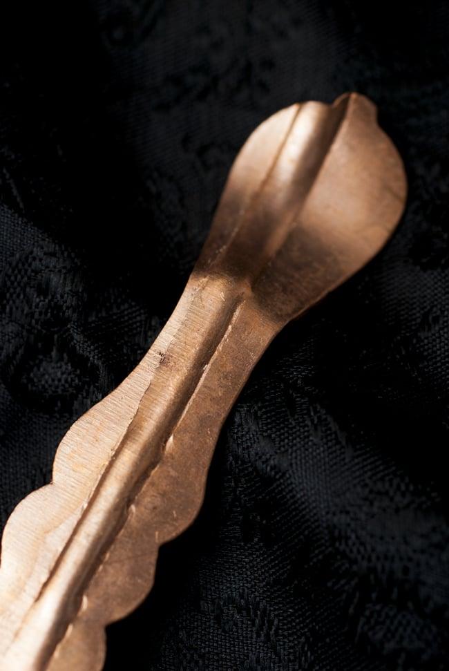 【祭壇用】銅製小スプーン 2 - 持ち手の部分です。