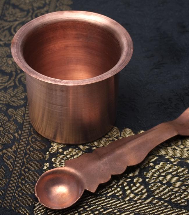 【祭壇用】銅製カップ 【直径:6.5cm】の写真