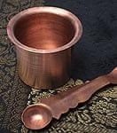 【祭壇用】銅製カップ 【直径:6.5cm】