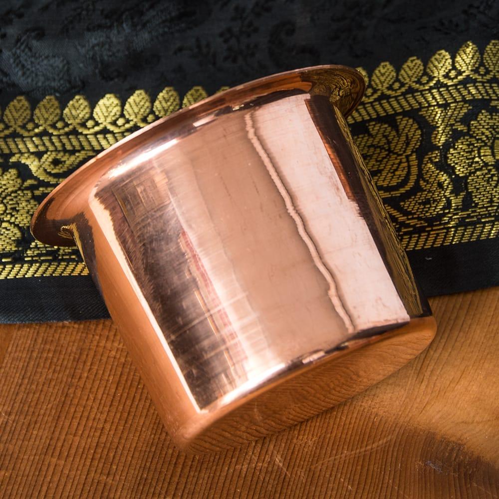 【祭壇用】銅製カップ 【直径:8cm】 2 - 銅で作られています。