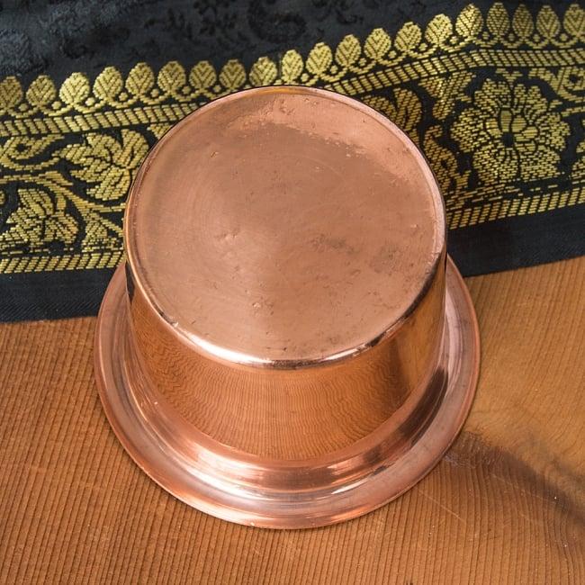 【祭壇用】銅製カップ 【直径:8cm】 4 - 裏面の写真です。