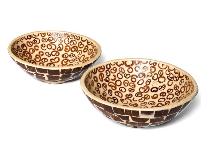 シナモンが香る飾り皿 2枚セットの写真