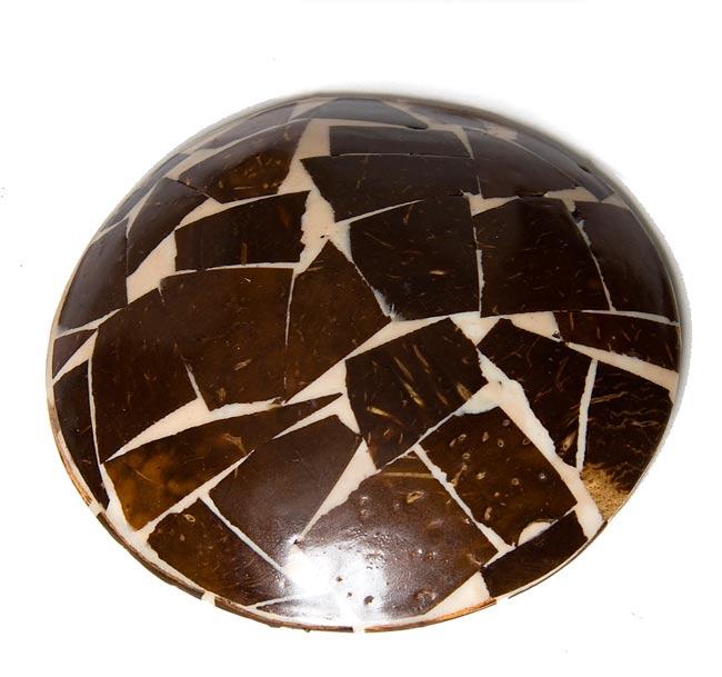 シナモンが香る飾り皿 丸小皿の写真3 - 裏側はこんな感じです。