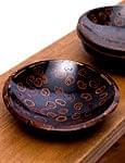 バリのシナモン飾り皿 丸小皿