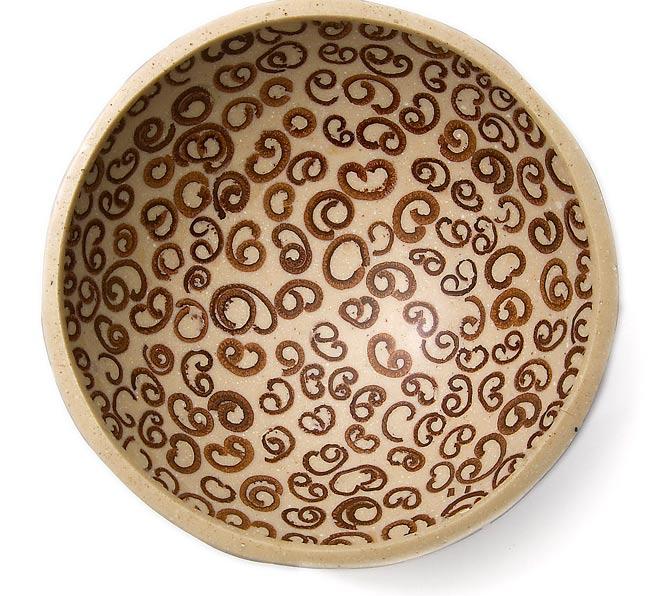 シナモンが香る飾り皿 3枚セットの写真2 - 上から撮影しました