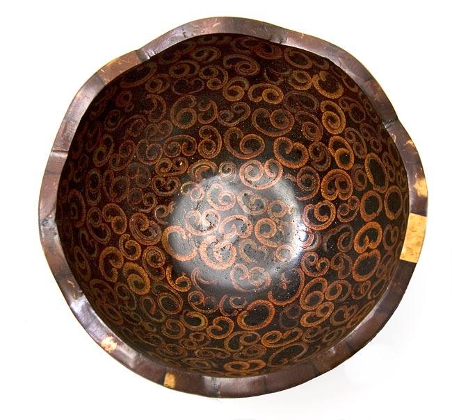 シナモンが香る飾り皿 お椀 の写真2 - 上から撮影しました