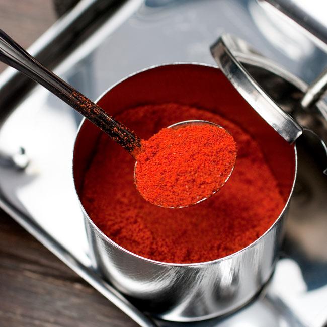 タイの薬味入れ 6 - スプーンも程よい大きさで、液状の調味料にも使いやすいですよ。