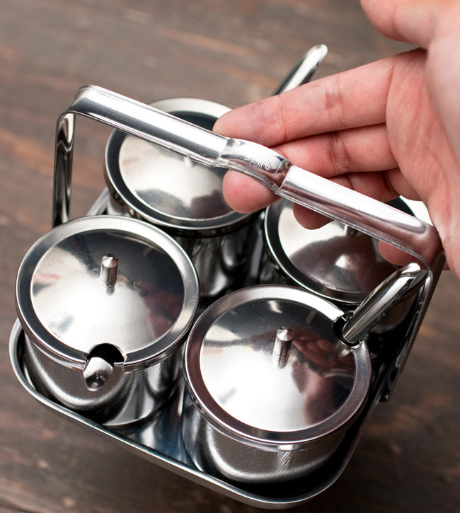 タイの薬味入れ 8 - 持ち運びに便利です。