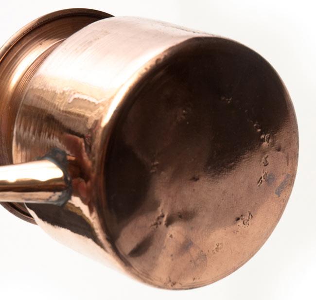 ネティポット(鼻水差し)[ 直径:約7.5cm 高さ:約8cm] 5 - 裏面です