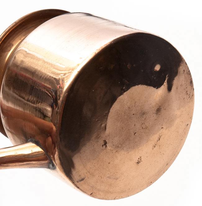 ネティポット(鼻水差し)[ 直径:約9cm 高さ:9.4cm] 5 - 裏面です。