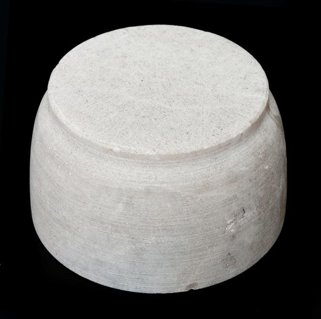 【非食品用】石のスパイスグラインダー [大]の写真3 - 裏面です