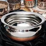 ハンディ - インドの鍋【直径約16.5cm】