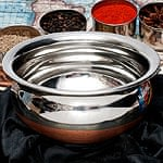 ハンディ - インドの鍋【直径約1
