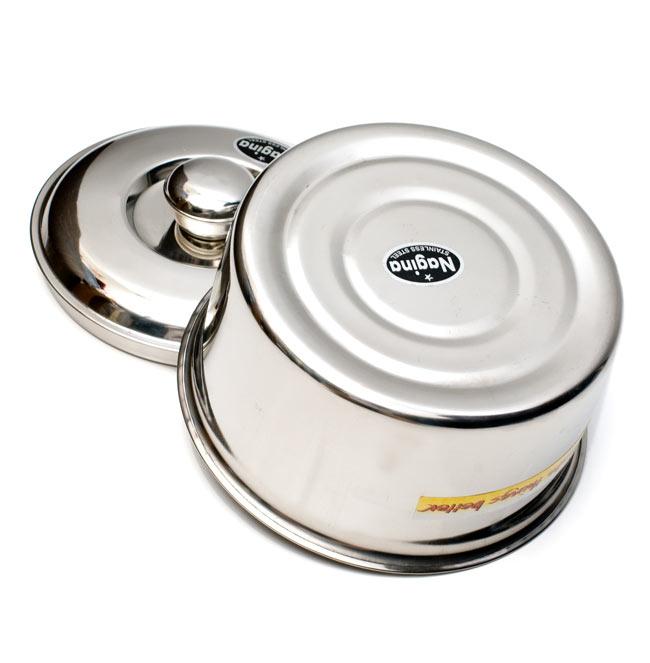 チャパティ保温器 インド料理 チャパティーケース 5 - 裏面はこんな感じです。