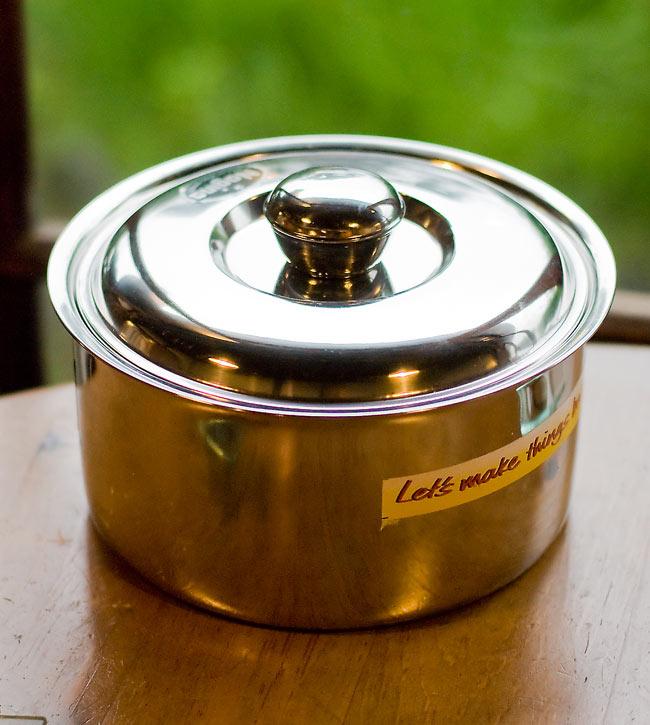 チャパティ保温器 インド料理 チャパティーケースの写真