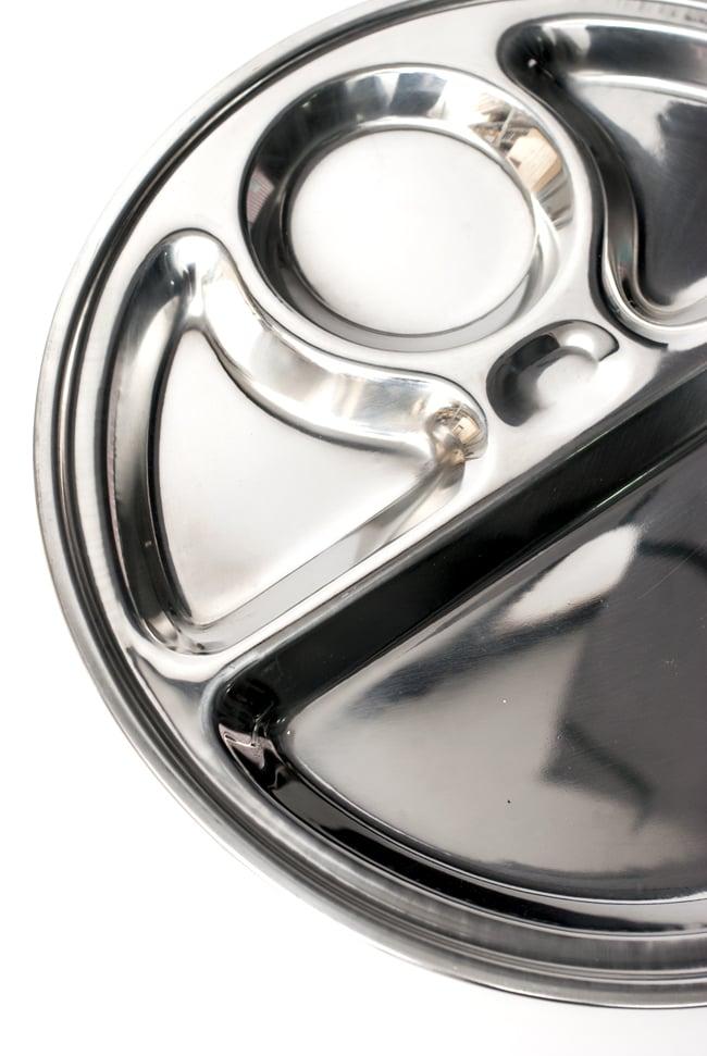 5分割カレー丸皿[直径約32.5cm]の写真5 - 色々な料理を盛りつけてお楽しみください!