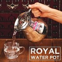 インドのステンレス水さし - Roy
