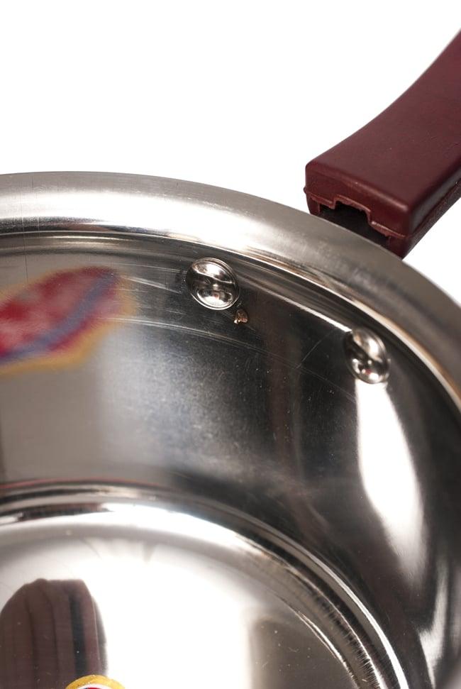 銅装飾付き片手鍋の写真6 - 中を見てみました。