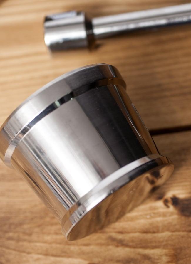スパイスグラインダー No.1 [直径:7.1cm程度 高さ:5.6cm程度] 4 - 横からの写真です