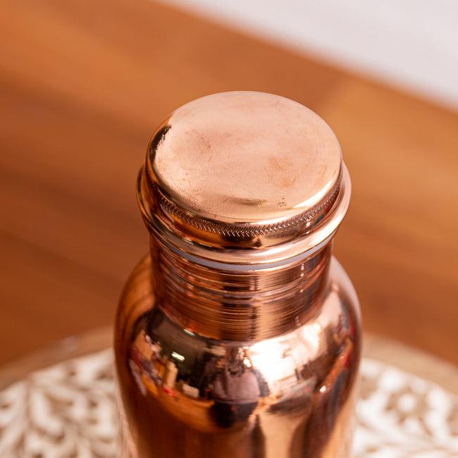〔非飲料用〕アーユルヴェーダ 銅製ボトル〔700ml〕 3 - このようなラベルがついています