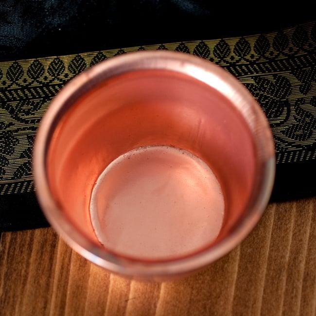 【祭壇用】銅製カップ 【直径:約4.3cm】 4 - 中はこのようになっております