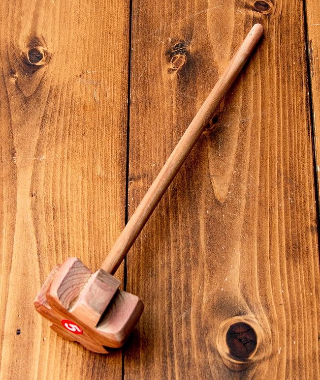 ラッシー用 木製ハンドミキサー 8 - 選択2:やや厚めタイプになります。