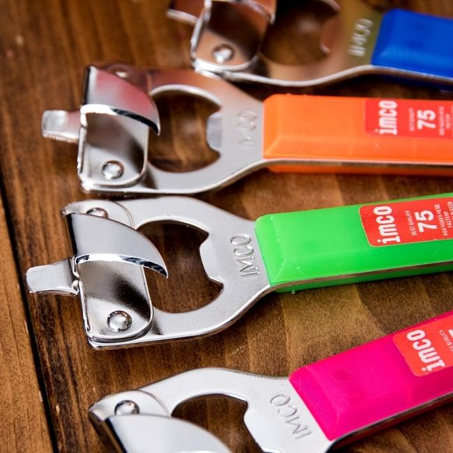 色彩豊かなタイの蛍光色オープナー 缶切り&栓抜き 2 - 鋭いのでお気をつけください