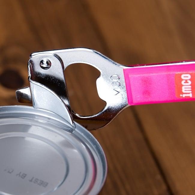 色彩豊かなタイの蛍光色オープナー 缶切り&栓抜き 5 - このように使用します