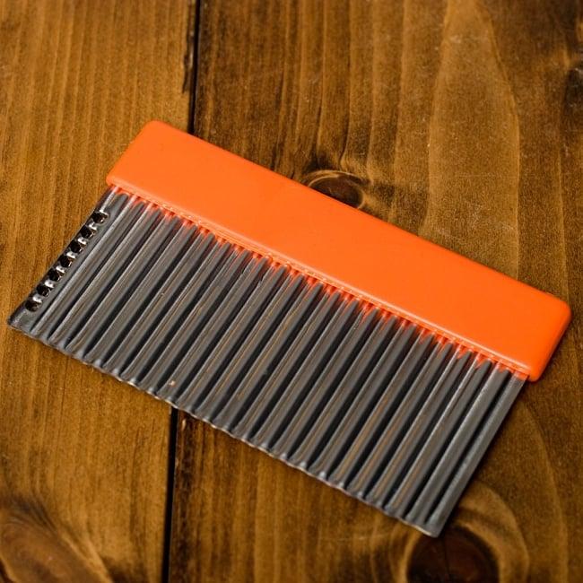 色彩豊かなタイの細切りスライサー付きジグザグカッター 9 - 【選択D:オレンジ色】