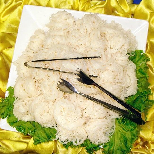 タイのトング 氷や米麺などの取り分けへ 6 - このように使われております