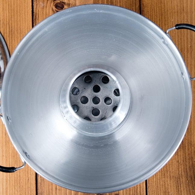 約20cm タイスキ・トムヤム鍋 モーファイ 火鍋子 8 - 煙突の中はこのようになっています