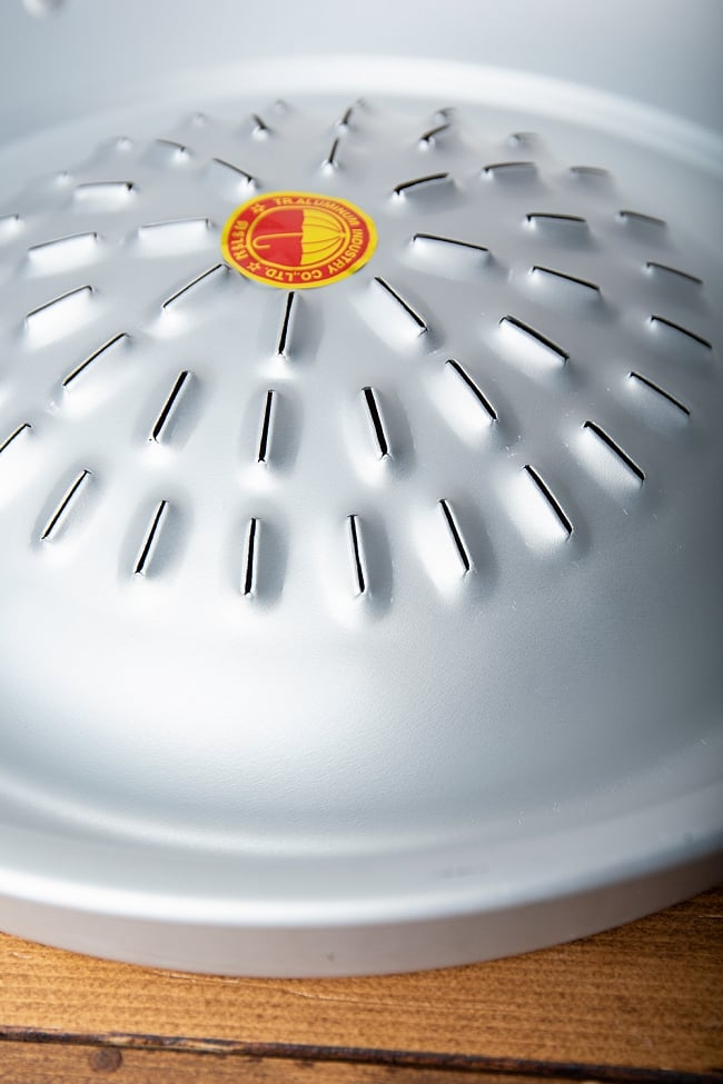 [35cm]ムーガタ - タイの焼き肉しゃぶしゃぶ鍋 7 - 独特の形状をしています。
