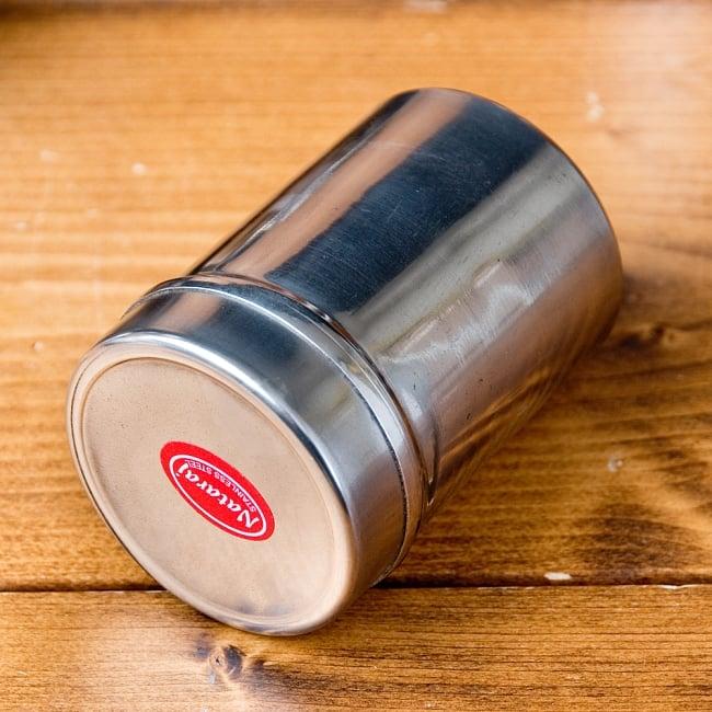 ステンレスのマサラケース・小物入れ[約7.6cm×5.4cm 120ml] 3 - スパイス以外にも、小物入れとしてとっても素敵!