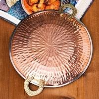 タヴァ槌目仕上げ チャパティやローティ用のフライパン(直径:約23cm)