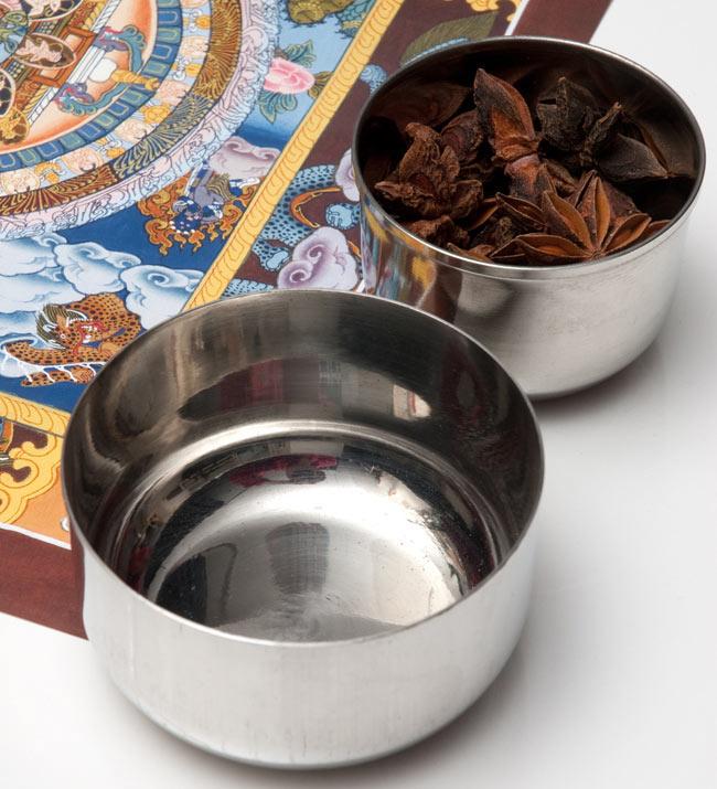 カレー小皿(約8.3cm×約4.5cm)の写真3 - イメージ写真