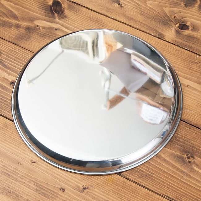 カレー大皿 [29.5cm]-重ね収納ができるタイプ 4 - 縁の部分はこうなってます。