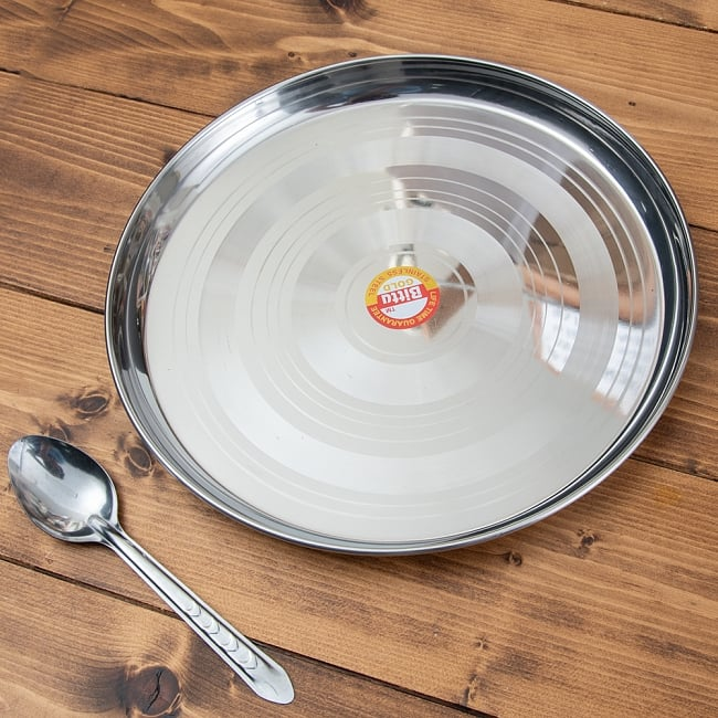 カレー大皿 [29.5cm]-重ね収納ができるタイプの写真