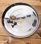 カレー大皿 [約34cm]-重ね収納ができるタイプ
