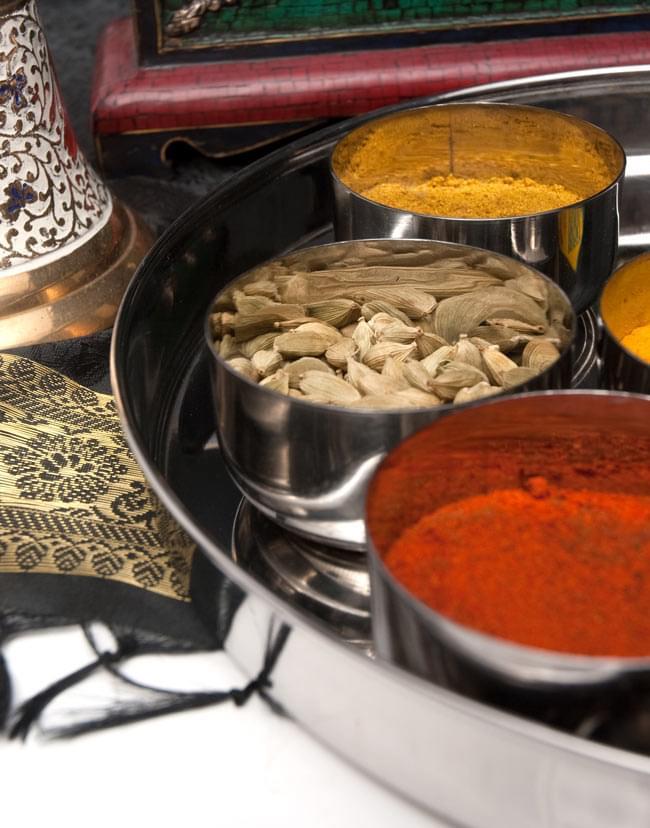 カレー大皿 [約27.5cm]-重ね収納ができないタイプ 3 - いかにもインド!