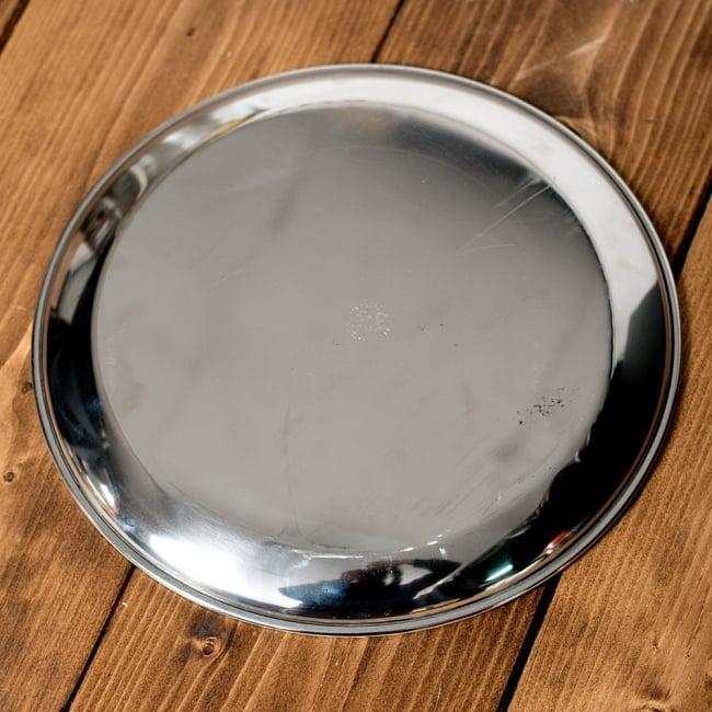 カレー皿 [約23.5cm] - 重ね収納ができるタイプの写真4 - 裏面の写真です