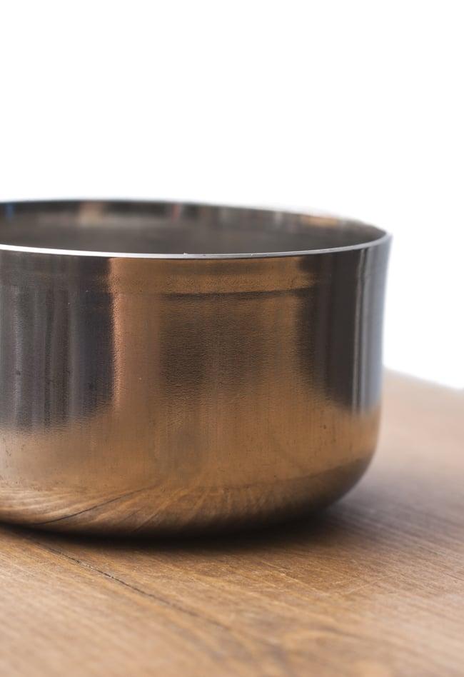 カレー小皿(約5.2cm×約2.8cm 容量50ml)極小サイズ チャトニボウル 3 - 横から撮影しました