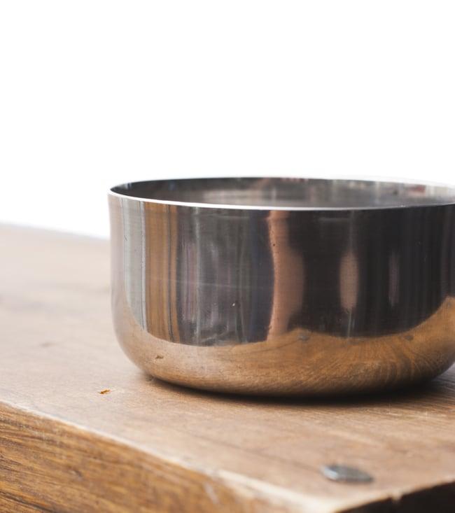 カレー小皿(約6.1cm×約2.9cm)小サイズ ラッサムボウルの写真3 - 横から撮影しました