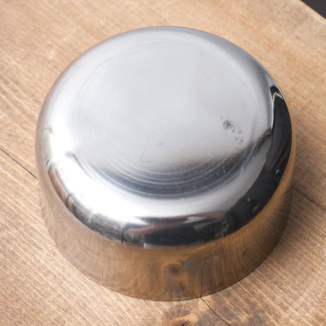 カレー小皿(約6.1cm×約2.9cm)小サイズ ラッサムボウルの写真4 - 裏面の様子です