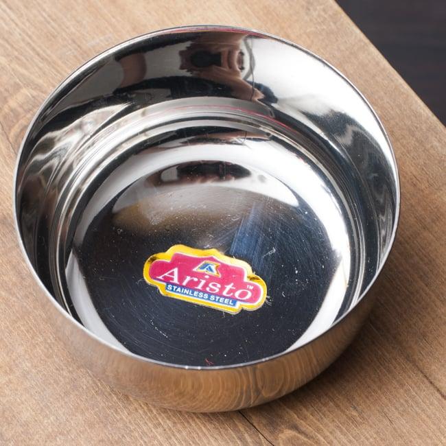 カレー小皿(約8.3cm×約4cm)中サイズ ダールカトリ 2 - 上からの写真です