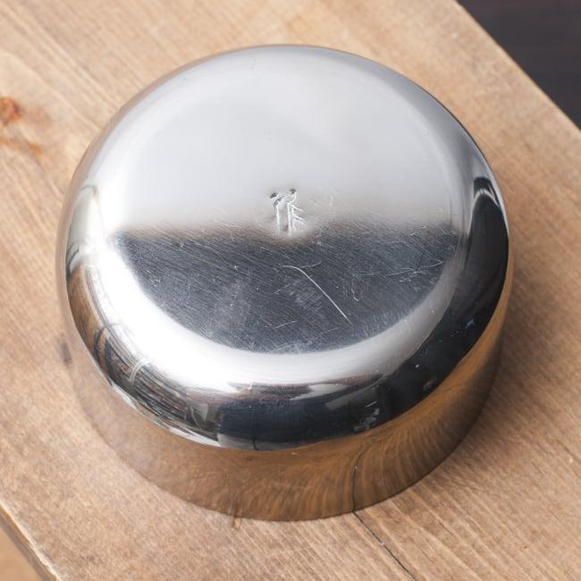 カレー小皿(約8.3cm×約4cm)中サイズ ダールカトリ 4 - 裏面の様子です