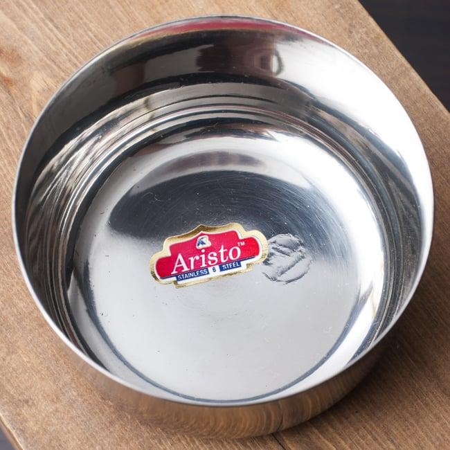 カレー小皿(約9.1cm×約4.5cm 約250ml)大サイズ ライスボウル 2 - 上からの写真です