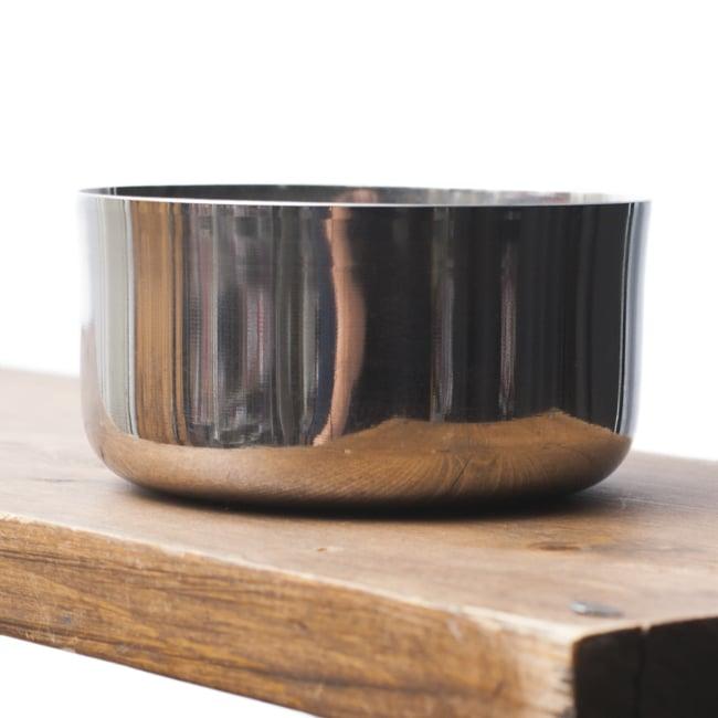 カレー小皿(約9.1cm×約4.5cm 約250ml)大サイズ ライスボウル 3 - 横から撮影しました